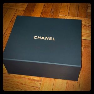 Chanel collectible magnetic box with tissue paper
